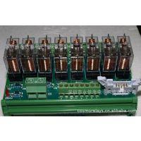 欧姆龙8位继电器G2R-1-E 12VDC 24VDC集成模块模板