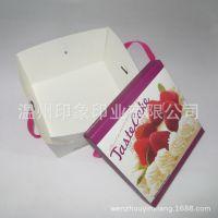 量大优惠 手提甜点蛋糕盒  西点折叠蛋糕纸盒 彩盒 厂家来样定做