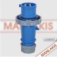 厂家直销 上曼电气TYP-260 航空插座 工业插座 防水插头插座 4芯32A 400V