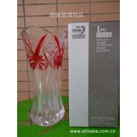 供应青苹果透明玻璃花瓶 现代创意时尚 居家摆饰