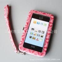 厂家生产iphone5手机外壳、PU皮苹果手机壳 时尚精美手机套定做