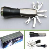 强光手电筒LED远射小手电野营出游多功能工具迷你应急灯 防身用品