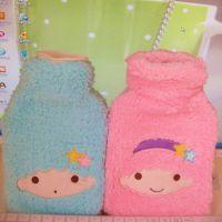 冬季爆款  新款梦幻双子星 橡胶热水袋 两色选