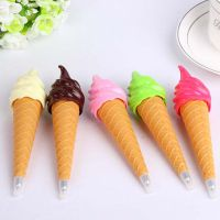 厂家直销 创意新款冰淇淋造型圆珠笔 学生用品学习文具 礼品批发