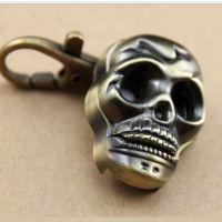 爆款表仿古挂创意鬼头复古表挂件表钥匙扣表表批发 鬼头骷髅头表