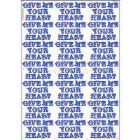 0广州金益汇烫画厂直销服装丝印烫麦商标 英文字母特色图标