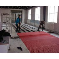 玻璃钢格栅安装 洗车房专用水槽盖板 免费提供洗车工位设计
