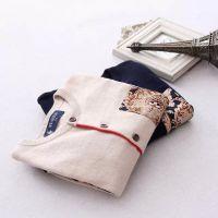 2015春秋新款 韩版儿童纯棉针织开衫外套 男童碎花长袖外套2.01