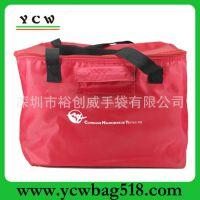 龙岗手袋厂 批发 生产 大容量 红色大冰包 保温冰袋