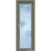 招商加盟 钛镁铝合金平开门 卧室厕所卫生间家居用铝合金门 MA429