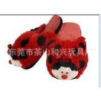 厂家定做毛绒动物拖鞋 毛绒拖鞋 毛绒保暖拖鞋 加工定做