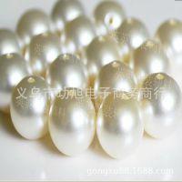 热卖 穿孔珍珠 环保不掉皮 手缝爪钻 服装辅料 手工串珠