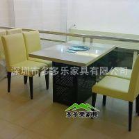 餐厅天然气火锅台 火锅桌椅供应厂家