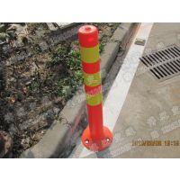厂家直销新款EVA弹立柱安全警示柱反光隔离柱一行一米线PE交通警示柱