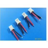 端子加工:端子线、ZH1.5间距端子线2P,25MM总长,电池端子线.