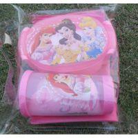 迪士尼套装 公主饭盒杯子 环保袋水杯小毛巾四件套 儿童便当组合
