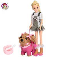 H27B 乐吉儿芭比娃娃女孩宠物厨房玩具 生日礼物 过家家儿童玩具