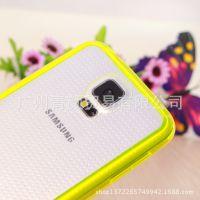 iphone6糖果手机壳 双色透明5.5寸TPU边框亚克力后壳手机套外壳