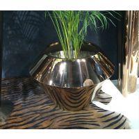 金属花瓶广场组合花箱座椅花箱不锈钢花器落地花钵园林绿化景观花瓶