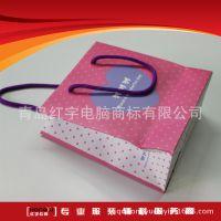 专业定制 灰板纸覆膜手提纸袋 服装纸袋礼品袋 牛皮纸袋