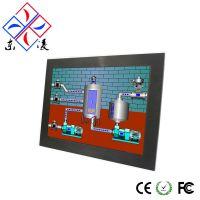 15寸D2550无风扇系列工业平板电脑_嵌入式强固型触摸一体机-LINUX系统工控一体机