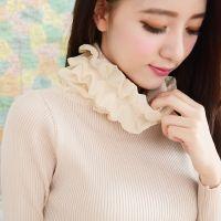 2014秋冬韩版甜美真丝堆堆高领纯色打底衫毛衣女
