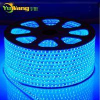 供应特价宇旺进口三芯片5050高亮LED灯带60珠防水高压LED软灯条家装款
