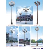 厂家直销铸铝铸铁欧式庭院灯复古花园灯公园灯LED庭院景观灯