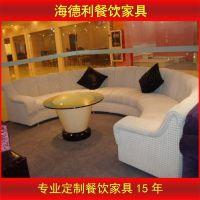 厂家直销 欧式皮革沙发组合 客厅转角L型大小户型皮布艺沙发批发