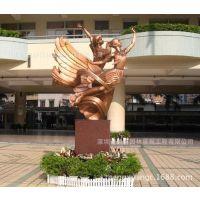福建厦门鼓浪屿景观园林雕塑深圳金童玉女大型学校景观玻璃钢雕塑