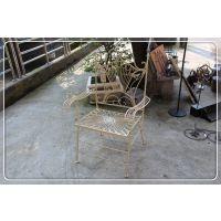 特价供应铁艺工艺品 铁艺椅子 大号园林创意铁椅子9320