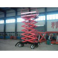 武汉移动剪叉式升降机、济南天龙液压(图)、车载移动剪叉式升降机