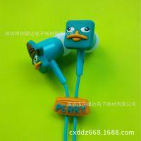 机器总动员卡通耳机 迪士尼动漫造型 MP3耳机
