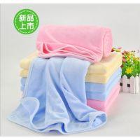 广州新婴坊天鹅绒婴儿浴巾,产妇浴巾婴儿被子小包被10064