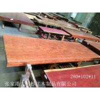 供应巴花直边大板 巴花家具 红木工艺品