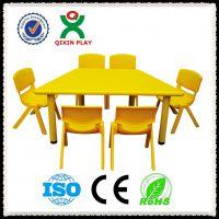 潮州河源哪里有幼儿园桌椅卖 儿童桌椅生产厂家批发