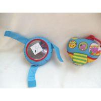 原单美国Kidoozie婴儿玩具响纸响铃安全镜床挂车挂