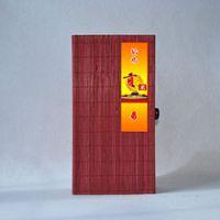 巨匠厂家定制天然中式环保原生态古朴精品大米竹盒礼品包装