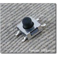 供应台湾产高品质轻触按键微动开关4P 6*6*4.5mm贴片立式 TS0J-2GL