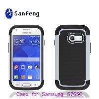多色混批 Samsung Galaxy s765c三合一颗粒机器人手机保护壳