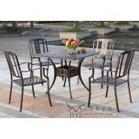 花园铸铝桌椅 公园铸铝桌椅 铸铝家具厂家 专业铸铝家具定制工厂