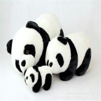 厂家定制熊猫毛绒公仔 毛绒玩具 企业吉祥物 都都熊促销礼品