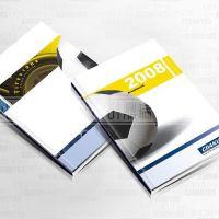 横沥ED显示屏画册-桥头LED灯具画册设计印刷