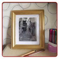 厂家定制直销 实木画框 欧式古典照片框 木相框 实木相框