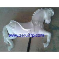 供应玻璃钢雕塑, 玻璃钢动物浮雕马
