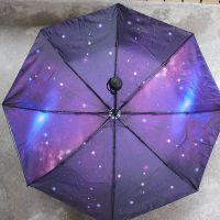 青壹 创意zakka杂货 太空漫步双层折伞 自动伞 太阳伞雨具批发