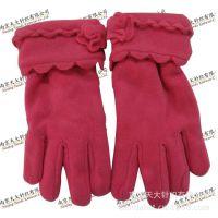 2014冬季必备外贸分指摇粒绒保暖手套批发 男女户外防寒抓绒手套