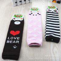儿童袜套批发 外贸婴幼儿袜套可爱小猪熊卡通袜套宝宝护膝袜套02