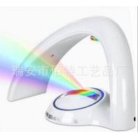彩虹灯 rainbow light七彩小夜灯 彩虹投影电子灯