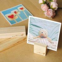 新品 韩国文具 批发  木质留言座 记事夹 便签座 名片照片座